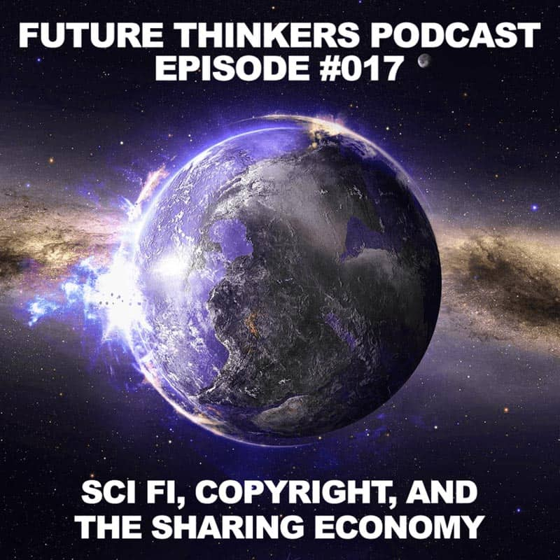 FTP017: Mike Johnston and Matt Bolton - Sci Fi, Copyright and The Sharing Economy