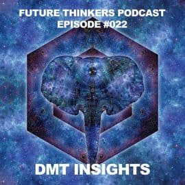 Future Thinkers Podcast Epiosde 22 DMT Insights - Entities, Other Dimensions, and Reality with Mike Gilliland and Euvie Ivanova
