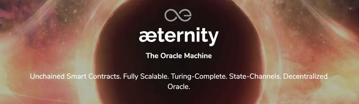 Aeternity - the oracle machine - blockchain platform