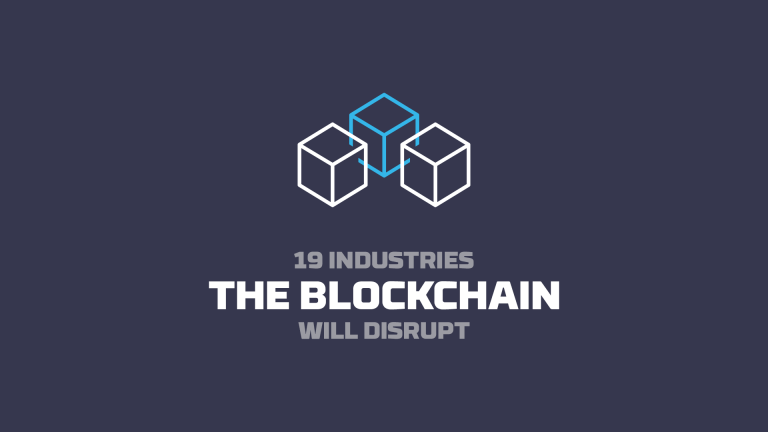19 industries the blockchain technology will disrupt, video by Future Thinkers