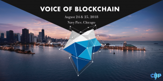 voice of blockchain logo